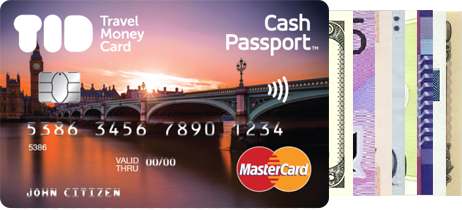 get card features - Mastercard Travel Card